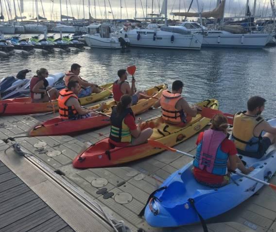 Excursión en Kayak por Valencia
